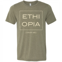 Ordinary Hero Heather Olive Ethiopia Tee