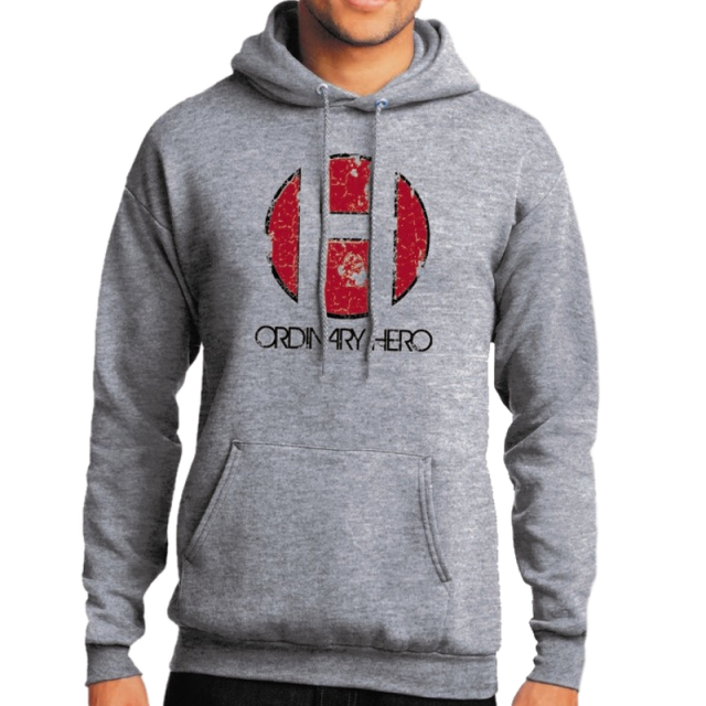 Ordinary Hero Athletic Heather Hoodie