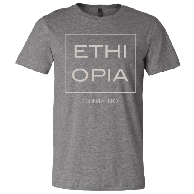 Ordinary Hero Deep Heather Ethiopia Tee