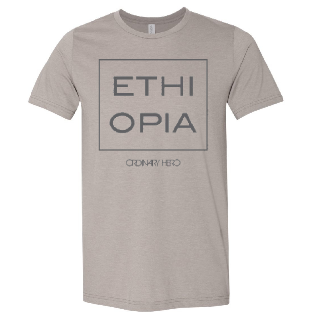 Ordinary Hero Heather Stone Ethiopia Tee