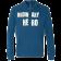 Ordinary Hero Cool Blue Zip Hoodie