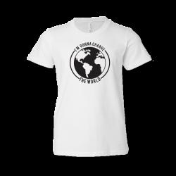Ordinary Hero Youth White Tee- I'm Gonna Change the World